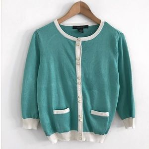 Cardigan button down sweater size M